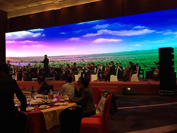 北京音乐晚宴现场